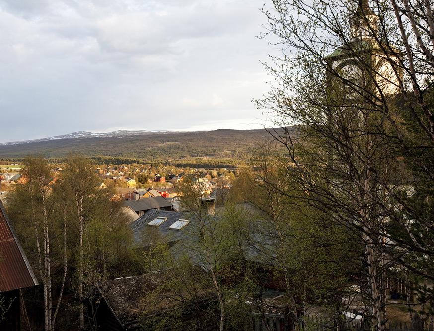 Utsikt over Bergstaden